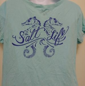 Salt Life women's turquoise T-shirt